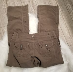 Kuhl cargo hiking pants size 6 regular
